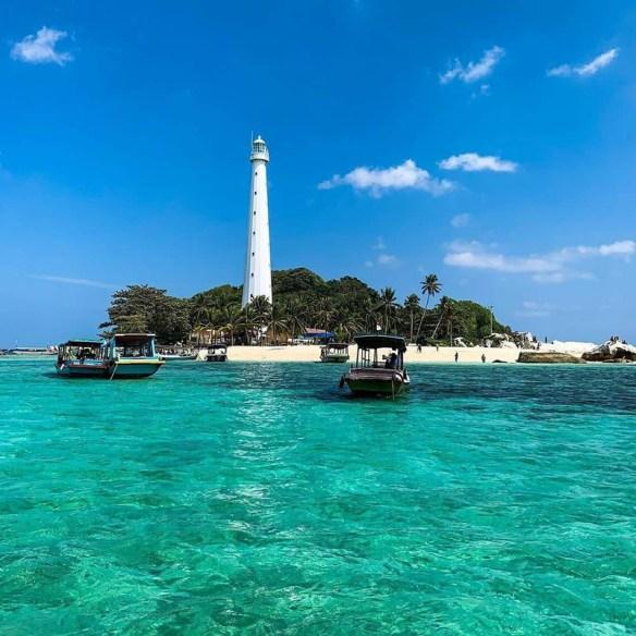 Terdapat rumah api tertua di Belitung