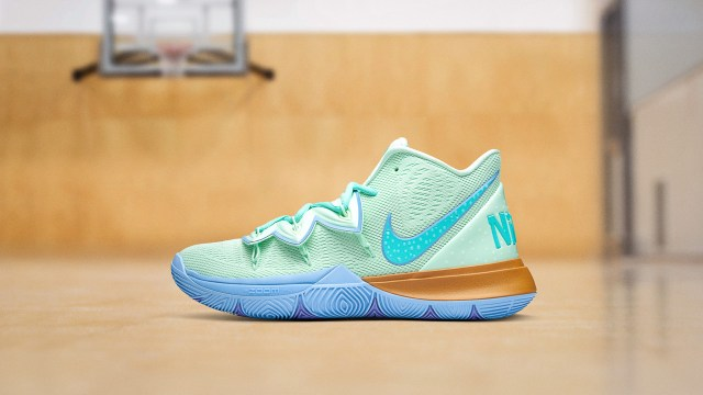 Nike X Kyrie Squidward Tentacles