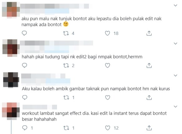 masyitah masya dihencap netizen kerana edit gambar