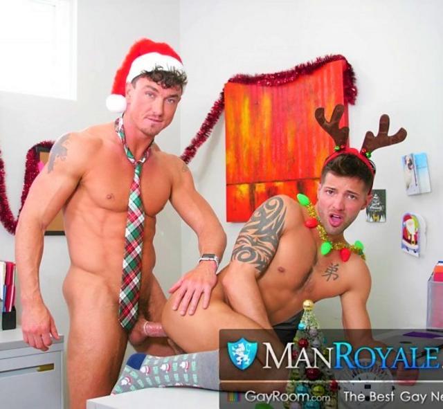 Office Christmas Party Fuck: Cade Maddox & Casey Everett
