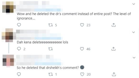 hairul azreen padam komen dr sheikh muszaphar di ruangan komennya mengenai alisya aisyah