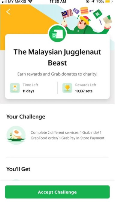 Grab The Malaysian Jugglenaut Beast