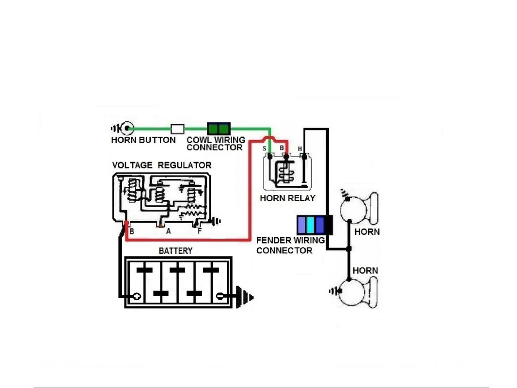 Horn Relay Wiring Question