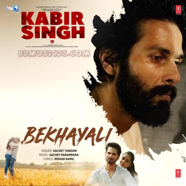 Bekhayali (Kabir Singh) By Sachet Tandon Full Mp3 Song