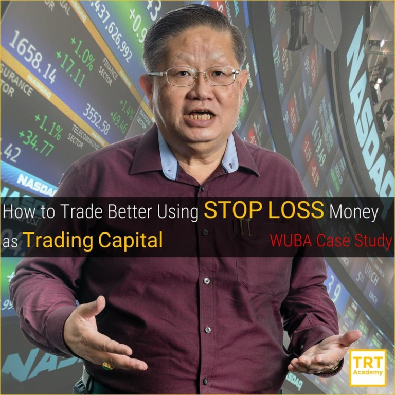 Yes… I Want to Improve My Trading Outcome – 2020 January – How to Trade Better Using STOP LOSS Money as Trading Capital – WUBA Case Study