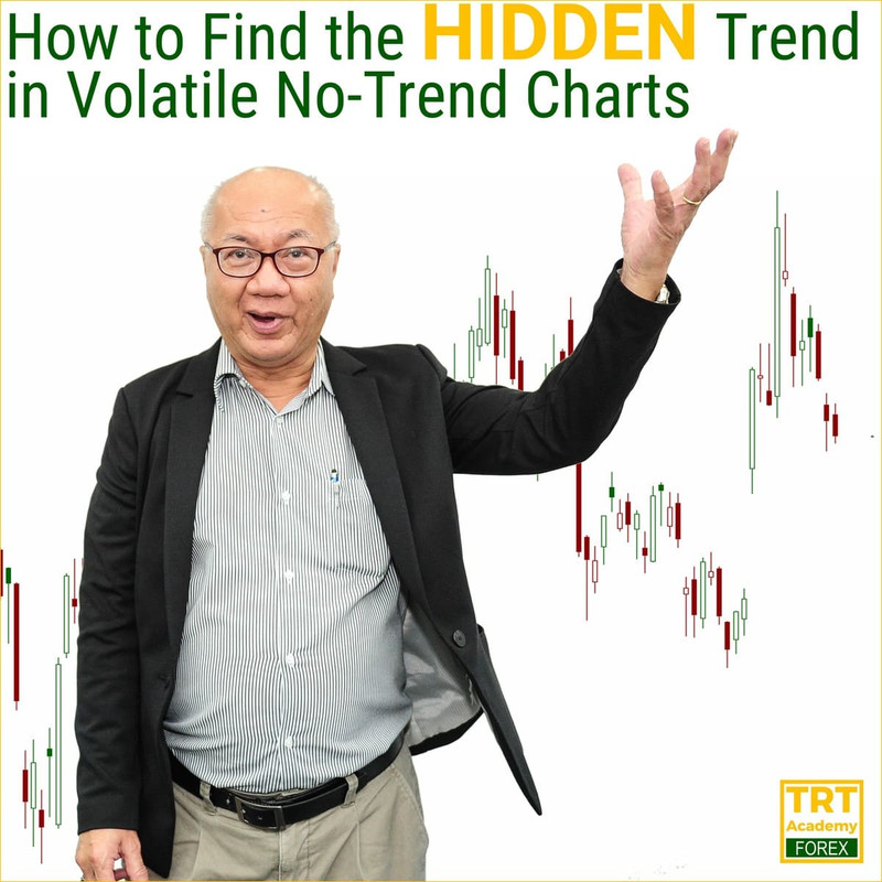 How to Find the HIDDEN Trend in Volatile No-Trend Charts