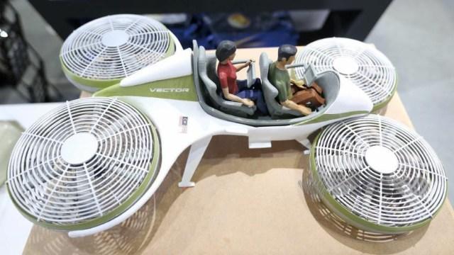 Prototaip kereta terbang sedang dibina di sebuah syarikat Malaysia di Jepun