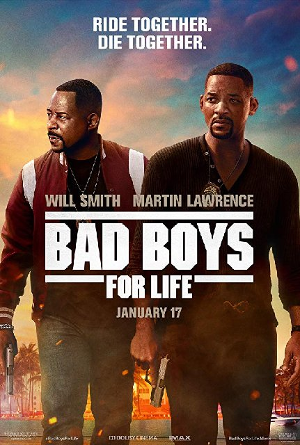 Bad Boys for Life 2020 Movie Poster