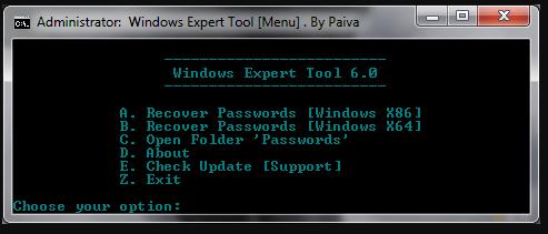 windows expert tools