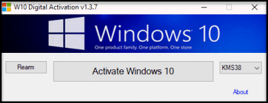W10 Digital Activation Program version 1.3.9
