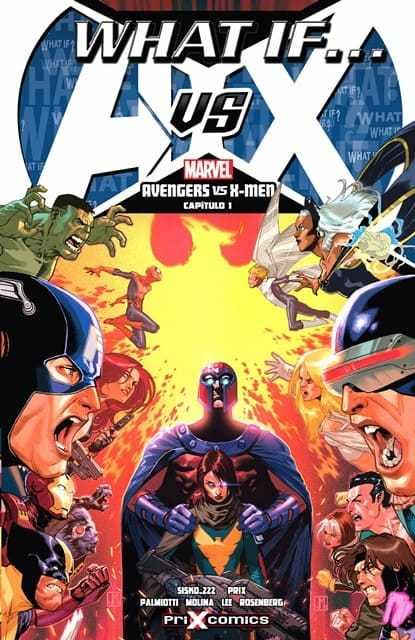portada comic what if avengers x men