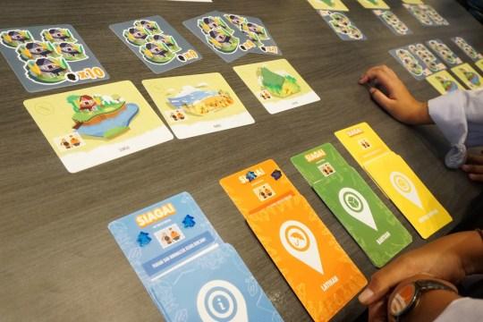 SIAGA! board game siap tanggap bencana dari Baznas