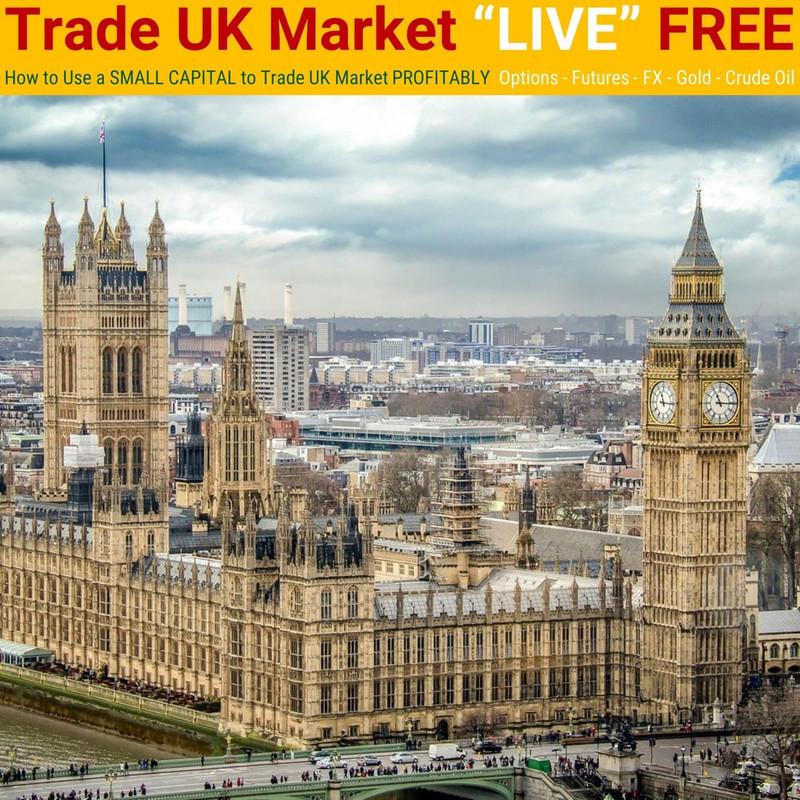"[LIVE Seminar @ TRT Academy]  Trade UK Market ""LIVE"" FREE"