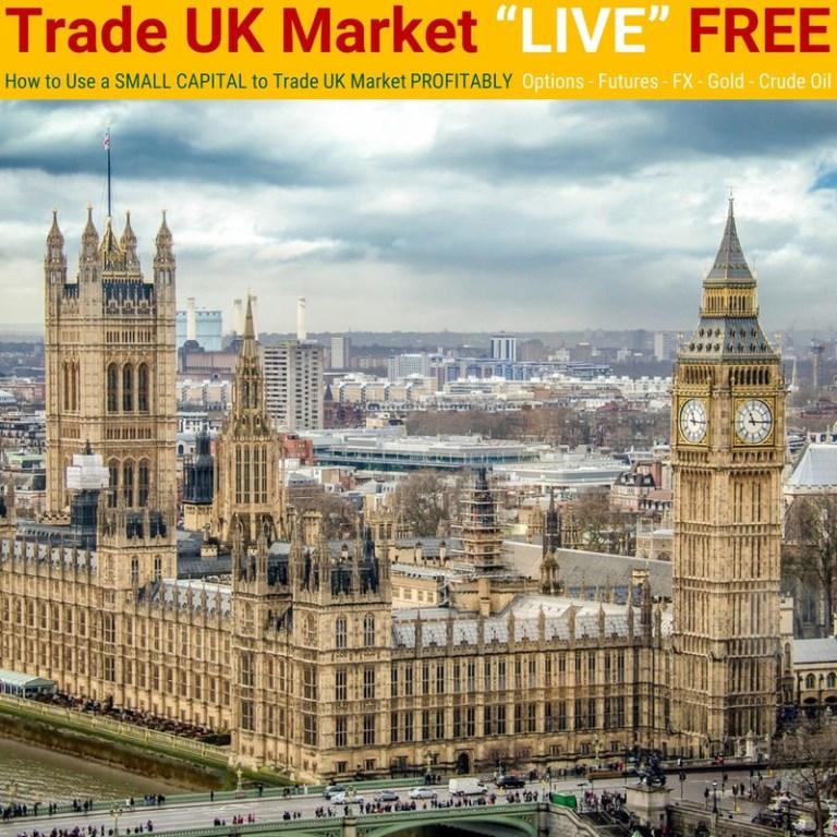 "12 June 2019 – [LIVE Seminar @ TRT Academy]  Trade UK Market ""LIVE"" FREE"
