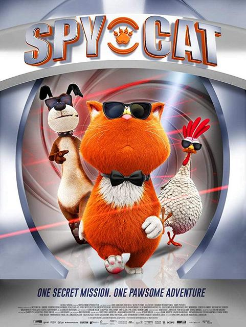 Spy Cat 2019 Movie Poster