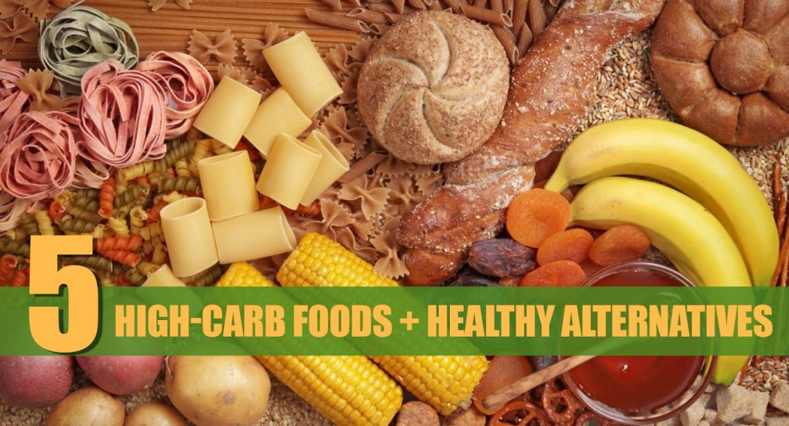 5 Excessive-Carb Meals To Keep away from And Their Wholesome Alternate options