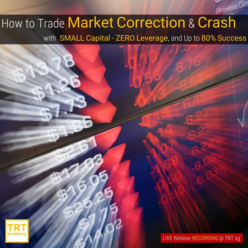 Yes! Send Me the Video – How to Trade Market Correction & Crash (10min Extract)