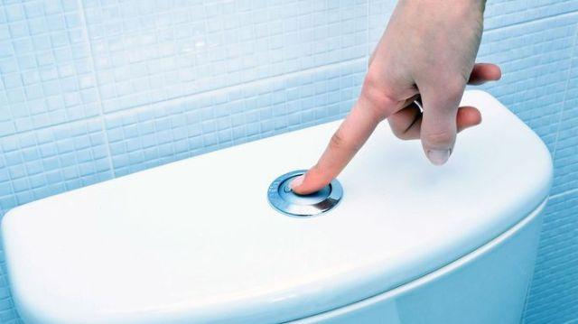 tidak flush tandas lepas guna