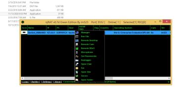 njRAT v0.7d Green Edition