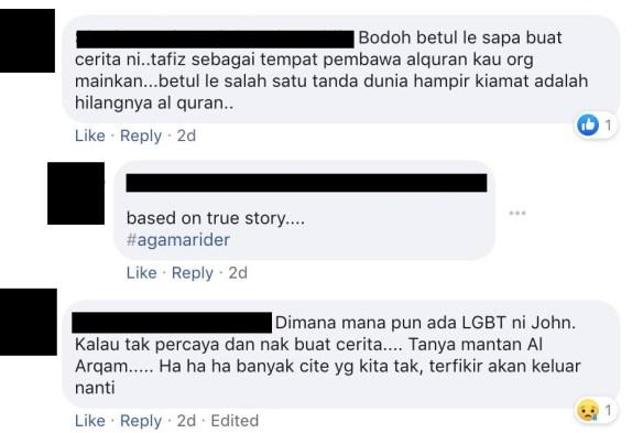 netizen kecam drama tahfiz gay