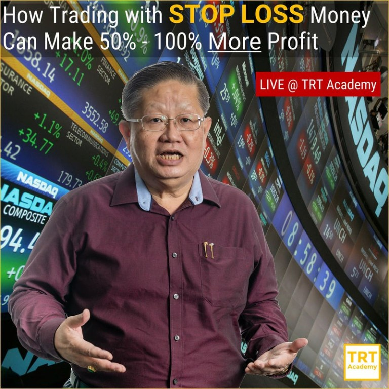 23 February – [LIVE Seminar @ TRT Academy]  How Trading with STOP LOSS Money Can Make 50% – 100% More Profit