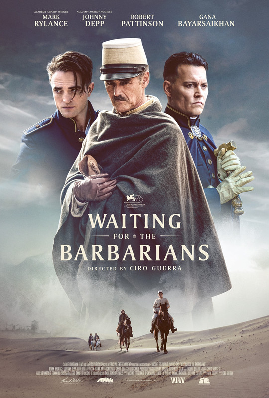 Waiting for the Barbarians 2020 English 720p HDRip 800MB Download