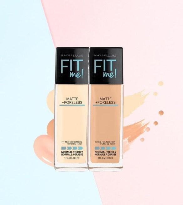 Fit Me adalah liquid dan ia mempunyai tekstur yang ringan dan cair