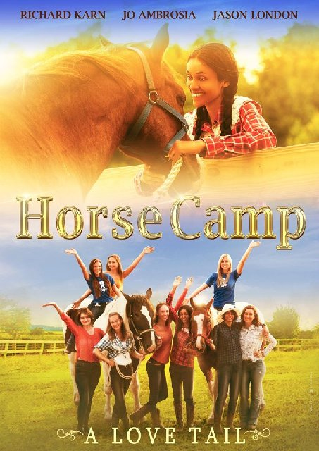 Horse Camp A Love Tail 2020 Movie Poster