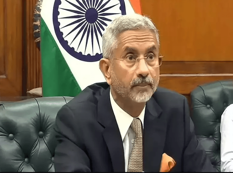 MEA, Mr. Jaishankar: India does not accept changes in LAC in any way