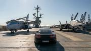 Porsche-Taycan-on-USS-Hornet-8