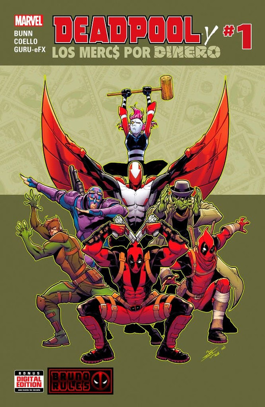 Deadpool and mercs for money