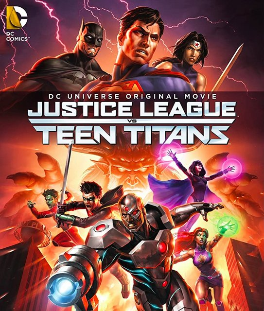 Justice League vs Teen Titans 2016 Movie Poster