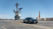 Porsche-Taycan-on-USS-Hornet-2
