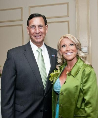 Frank LoBiondo with his wife Tina Ercole