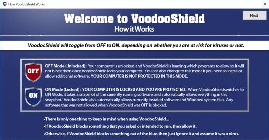 Voodooshield Pro v6.40
