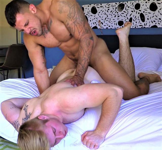 Tons Of Love Tony Romero FUCKS New Blonde Teen Troy Daniel