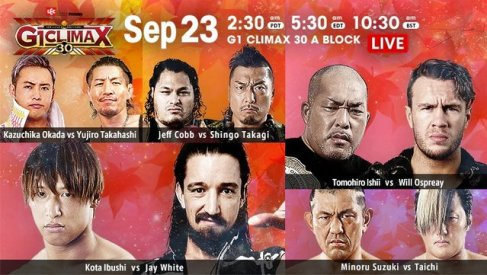G1 CLIMAX 30 2020 09 19 Free