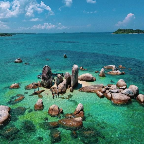 Pulau Batu belayar pulau sangat kecil
