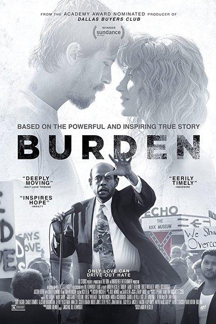 Burden 2020 Movie Poster