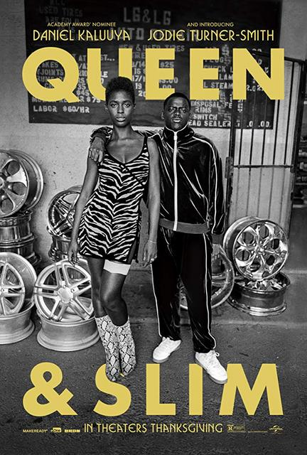 Queen and Slim 2019 Movie Poster