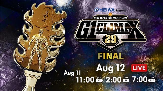 NJPW 2019 08 12 G1 Climax 29 Final