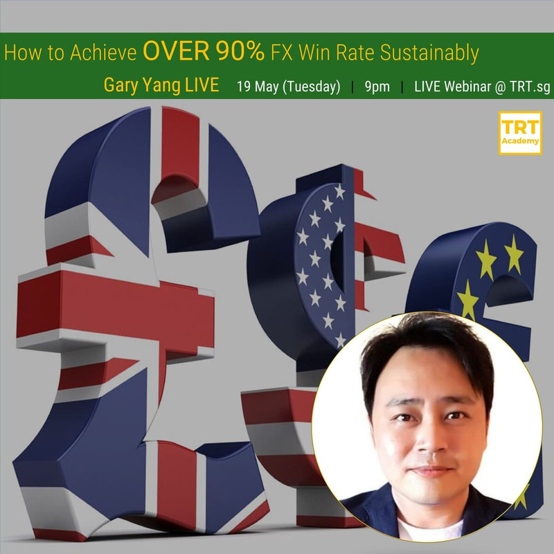 19 May – [LIVE Webinar @ TRT.sg]  Peer Support & Networking for Aspiring Traders – Gary Yang LIVE
