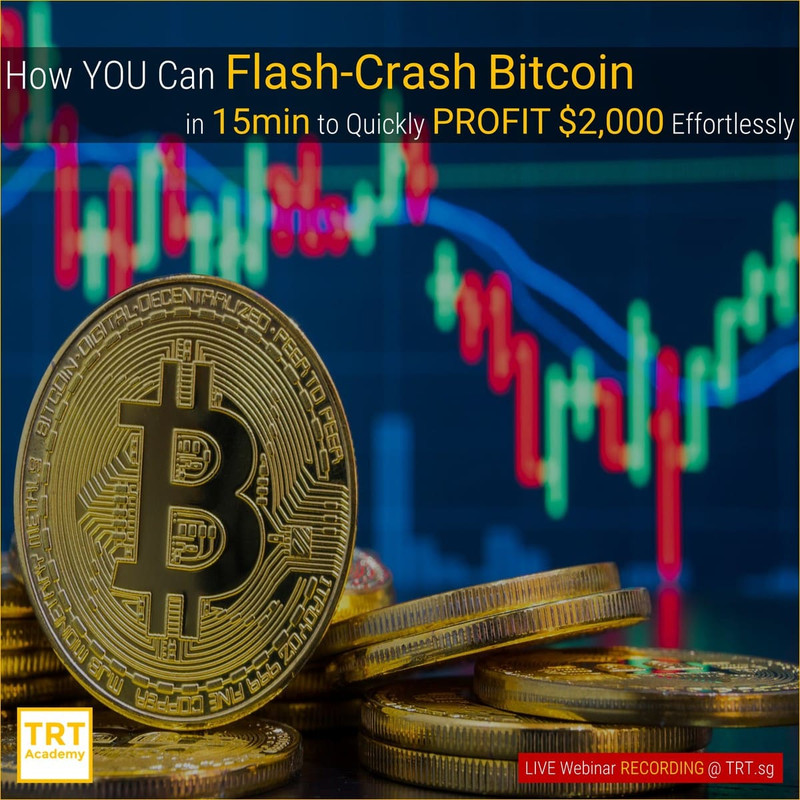 Yes… I Want to Improve My Trading Results – 2019-06 – How YOU Can Flash-Crash Bitcoin in 15min to Quickly PROFIT ,000 Effortlessly
