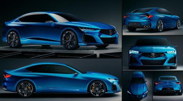 Acura adalah genarasi NSX terbaharu