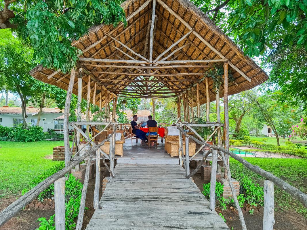 Patio - Sungeni Cottage