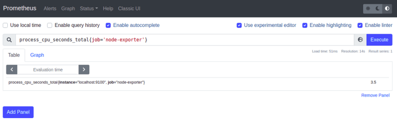 "process_cpu_seconds_total{job=""node_exporter"")"