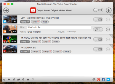 MediaHuman YouTube Downloader 3.9.9.50 (0512) incl key