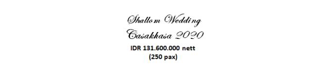 paket pernikahan jakarta lengkap casakhasa murah dengan vendor berpengalaman