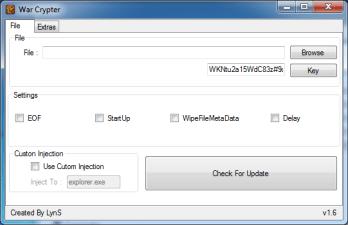 War Crypter 1.6