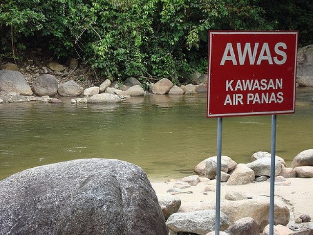 kolam air panas Kuala Woh